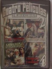 El Pachuco, Tempestad De Odio, Ambicion Exterminio + 1 more, DVD, Accion Vol. 5