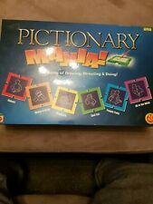 Pictionary Mania! 100% Complete family Fun Games Drawing Art Board Game