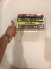 Disney Aristocats, Fox & Hound, Bugs Life & King and I Vhs Lot