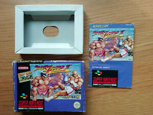 Street Fighter II Turbo SNES - Box and instructions ONLY!