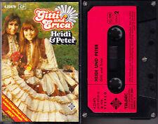 MC Gitti und Erica - Heidi & Peter - Telefunken TELDEC geschraubt 1978