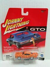 Rare Johnny Lightning GTO 1971 Pontiac Pro Street White Lightning Chase Orange