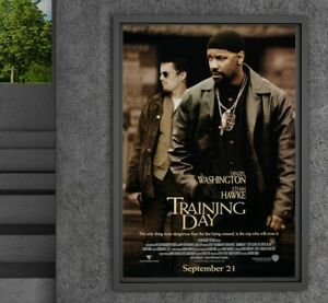 Training Day 13x19 Movie Poster
