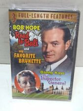 3 Film DVD New Sealed Road to Bali/My Favorite Brunette/The Inspector General