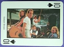 1 x playing card Country Music * Sawyer Brown * 10 of Spades