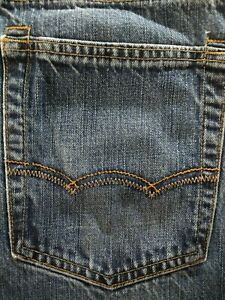 GUC men's AMERICAN EAGLE jeans / style BOOTCUT - size 34 x 30