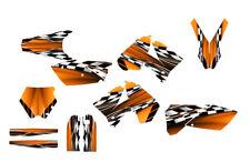 2005 - 2006 KTM SX SXF 125 250 450 525 Graphics kit #2500-orange