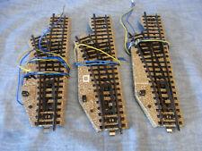 04 Märklin Metallgleis 3x elektrische Weiche links 5138 Radius 1, geprüft