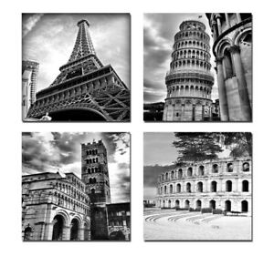 Canvas Giclee Print Painting Pictures Home Decor Wall Art Gray World Attractions
