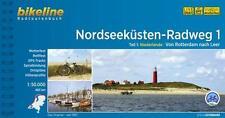Bikeline Radtourenbuch Nordseeküsten-Radweg 01: Rotterdam - Leer (2017, Ringbuch