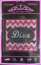 "Crystal Heiress Princess Diva Sticker Decal Laptop Locker Car Scrapbook 4""x4"""