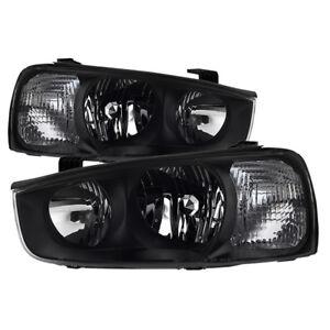 Fit Hyundai 01-03 Elantra Replacement Headlights Left + Right Pair Set