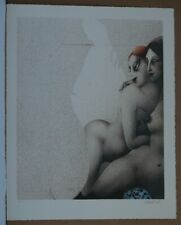 AT TURKISH BATH-1981-NUDES-LITHOGRAPH PAUL WUNDERLICH-13/1000-SIGNED