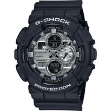 Casio G-Shock GA-140GM-1A1 Analog-Digital Gunmetal Dial Black Strap Men's Watch