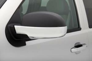AVS for 07-14 Chevy Tahoe (Lower Half) Mirror Covers 2pc - Chrome - avs687665
