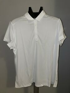 NEW Nike Golf Women's Victory Solid Polo 725582 100 Sz 3XL White