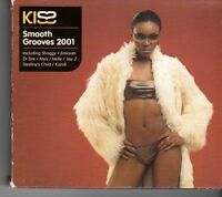(FH48) Kiss Smooth Grooves 2001, 38 tracks various artists - 2001 CD