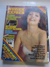 Muziek Express 6/78 Blondie Patti Smith Earth & Fire David Bowie Dutch magazine