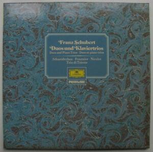 DGG 2734 004 Fournier cello: Schubert: Arpeggione, Schneiderhan, Trio Trieste NM