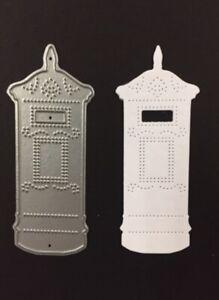 Britannia Dies Postbox Card Making Scrapbooking Metal Cutting Die Wedding