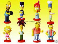 Gacha Tomy TYC The Simpsons Body Bobble Figures Series #4 COMPLETE SET