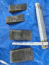 4 x Antiker Spaltkeil  Eisenkeil Keil Holzspalter Treibkeil Lot 1