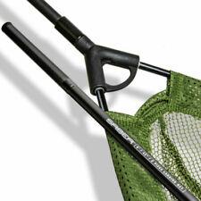 """Saber Carp Fishing 2 Piece Landing Net 42"""" Fishing Coarse Mesh Tackle + Handle"""