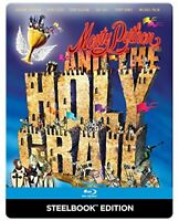 Monty Python and the Holy Grail [Steelbook] [Blu-ray] [1975] [Region Free]