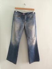 7 for All Mankind Boot Cut Jeans 30 Cut number 93605