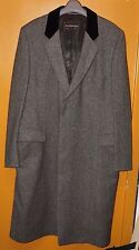 Vintage Yves Saint Laurent Single Breasted 3/4 Length Wool Men's Trench Coat