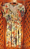 Daisy Fuentes Womens Dress Small Floral