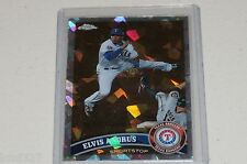 2011 Topps Chrome Atomic Refractors Elvis Andrus Card # 162  # 165 /225