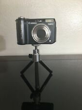 Canon PowerShot A640 10.0MP Digital Camera - Black Color