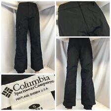 "Columbia Lightweight Ski Pants S Women Black Nylon 28"" Inseam LNWOT YGI L9-180"