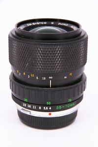 OLYMPUS 35-70 f/4 lens for OM mount with fault Professionally checked