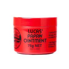 75g Lucas Papaw Ointment Lips Balm Nappy Rash Best Australian Skincare