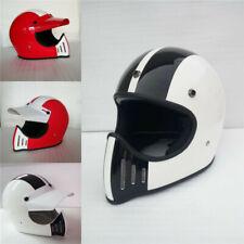Full Face with Visor Japan Brand TT&CO Vintage motorbike Outdoor Helmet Adult