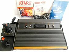 Atari Video Computer System CX-2600 A Video Game Console 2 Controllers