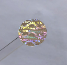 Hologram stickers TAMPER EVIDENT Warranty void labels, 15 mm X 15 mm