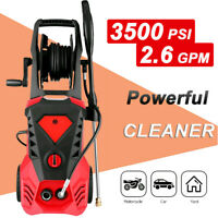 3500PSI 2.6GPM Electric Pressure Washer High Power Water Cleaner Sprayer Kit