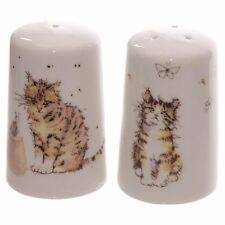 Les chats de sel et poivre Cruet Set shakers pots céramique cadeau collection chat chaton