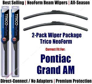 2pk Super-Premium NeoForm Wipers fit 1973-1975 Pontiac Grand Am 16160x2