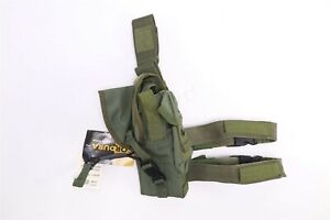 London Bridge LBT-0372A Large Framed Pistol Holster Drop Leg OD Green Navy SEAL