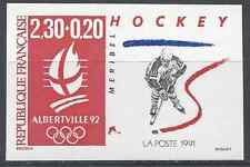 JEUX OLYMPIQUES JO N°2677 TIMBRE NON DENTELÉ IMPERF 1991 - NEUF ** LUXE MNH