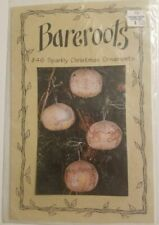 Bareroots #46 Sparkly Christmas Ornaments Pattern folk art Embroidery Sewing