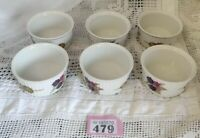 A set of 6 Evesham Gold Ramekin Dishes Royal Worcester Oven To Tableware