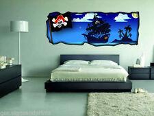 Pegatinas y plantillas de pared sin marca para el dormitorio