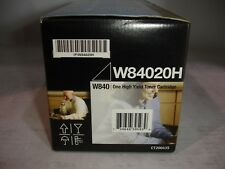 Genuine Lexmark W84020H High Yield Black Toner Cartridge