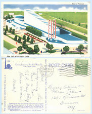 Hall of Fashion Building 1939 New York Worlds Fair Postcard Architecture A-14