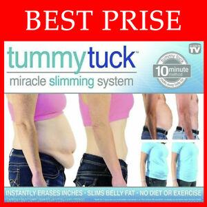 BEST PRICE! Tummy Tuck Belt Miracle Slimming System instantly erases inches -10$